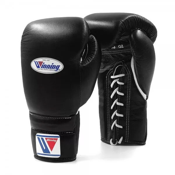 nlfightshop winning ms veters (kick)bokshandschoenen – zwart 1