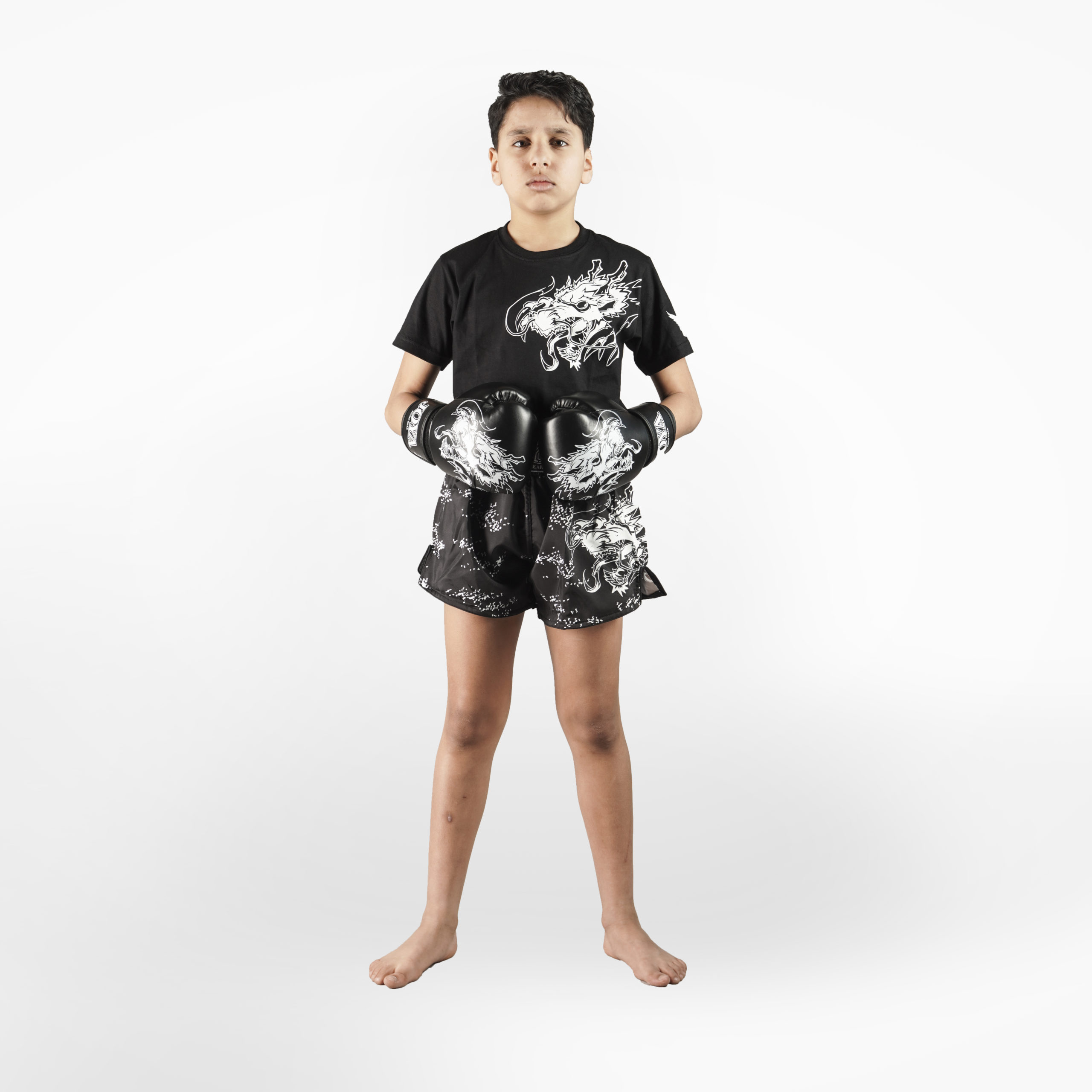 nlfightshop joya dragon t-shirt – wit 4
