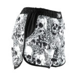 nlfightshop joya ladies short – skulls 1